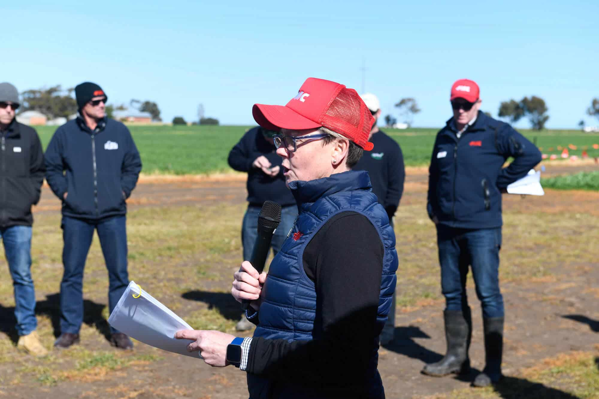 FMC Roseworthy Field Day Simonne Read, Aug, 2019
