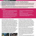 Overwatch Herbicide Disc Seeding